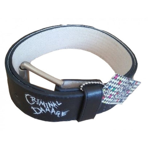 Criminal Damage Belt - Black