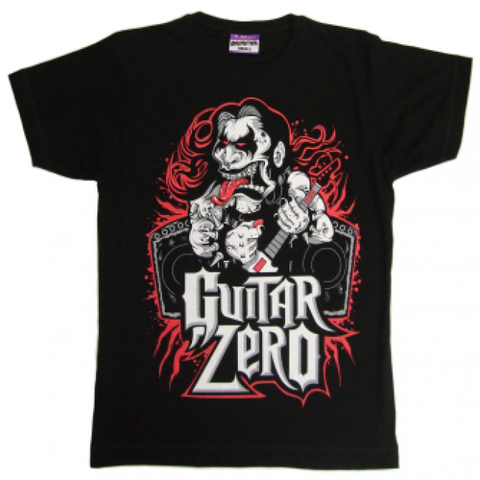 Disturbia 'Guitar Zero' T-Shirt - Black