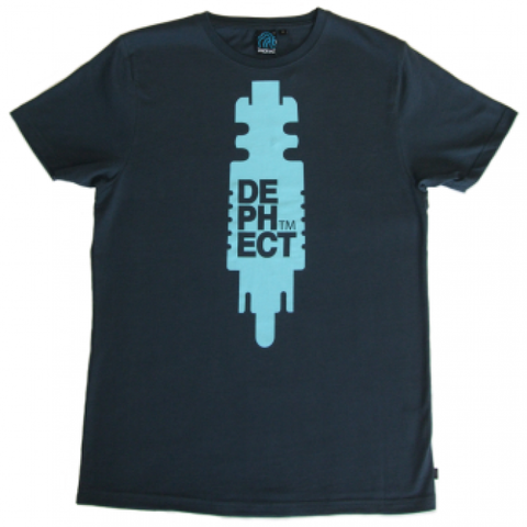 Dephect 'Plug' T-Shirt - Dark Blue