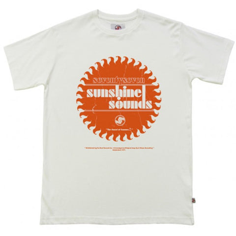 Seventy Seven 'Sunshine Sounds' T-Shirt - Vintage White