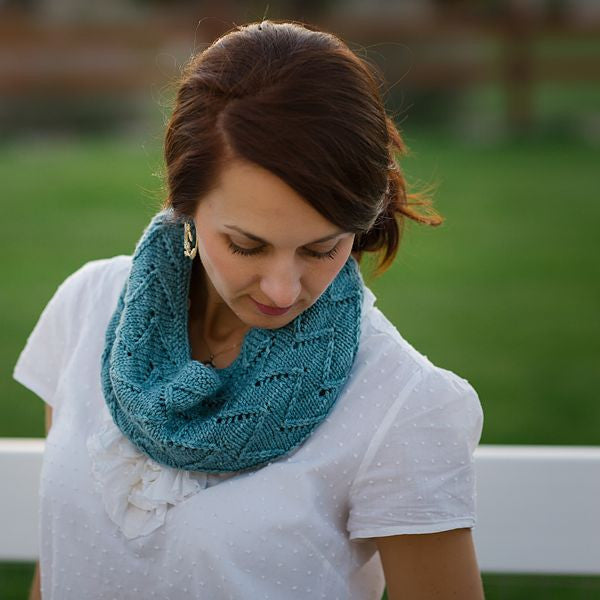 Luna Grey Fiber Arts Alpenglow Cowl Kit