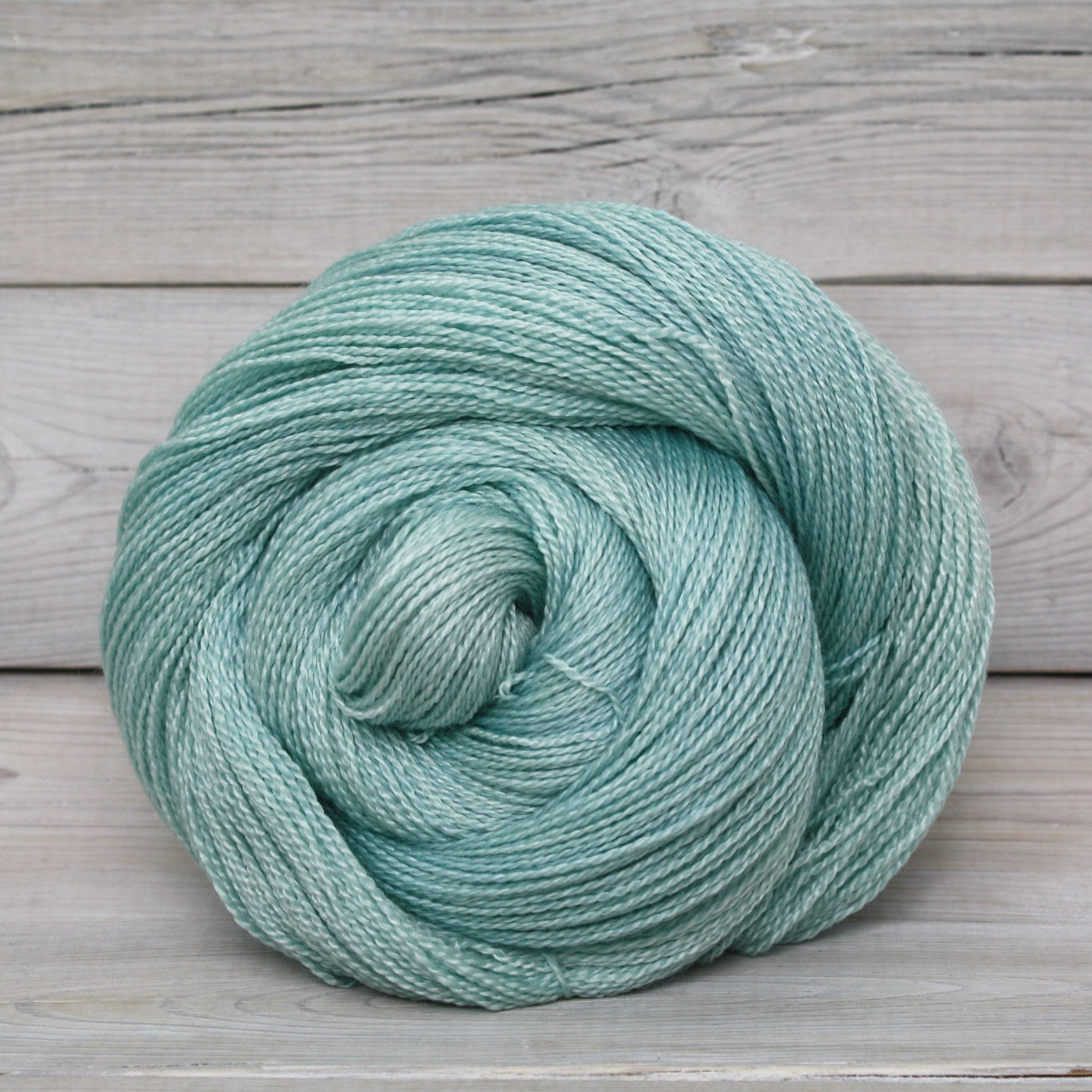 luna grey fiber arts starbright yarn | colorway: araucana