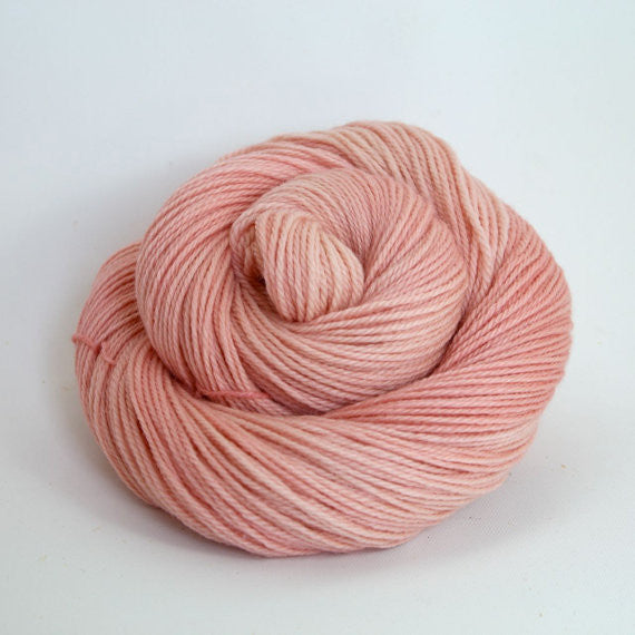 Luna Grey Fiber Arts Zeta Yarn | Colorway: Blush