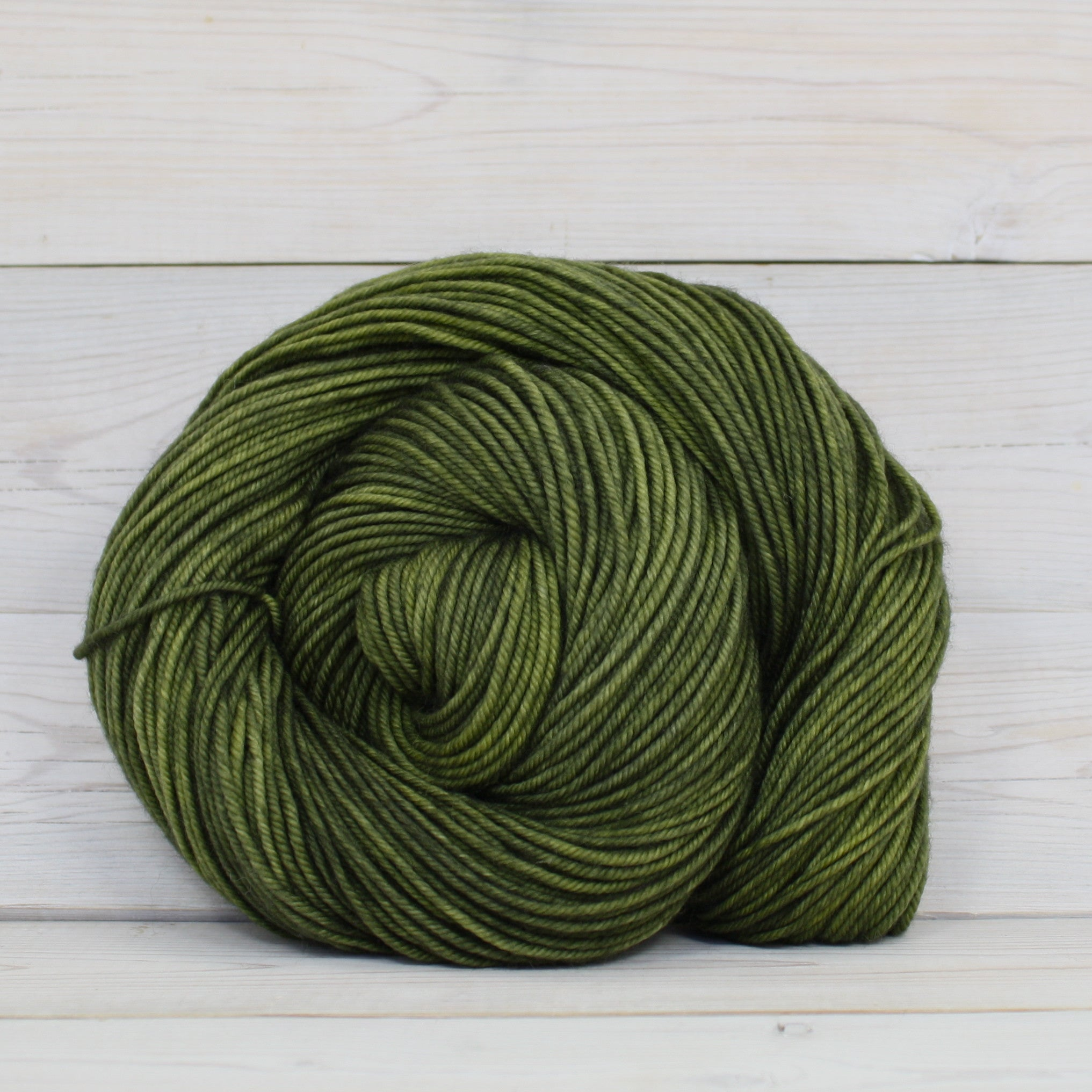 Luna Grey Fiber Arts Calypso Yarn | Colorway: Bracken Fern