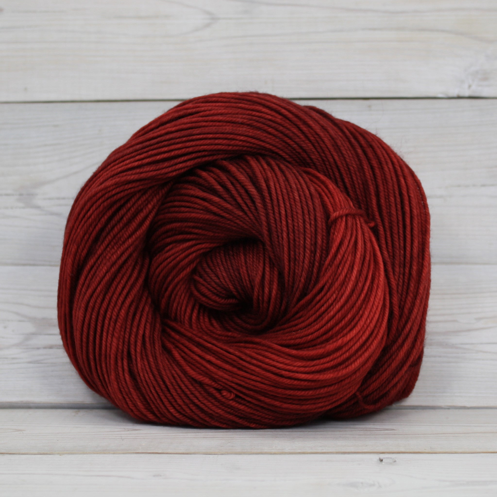 Luna Grey Fiber Arts Calypso Yarn | Colorway: Brickhouse