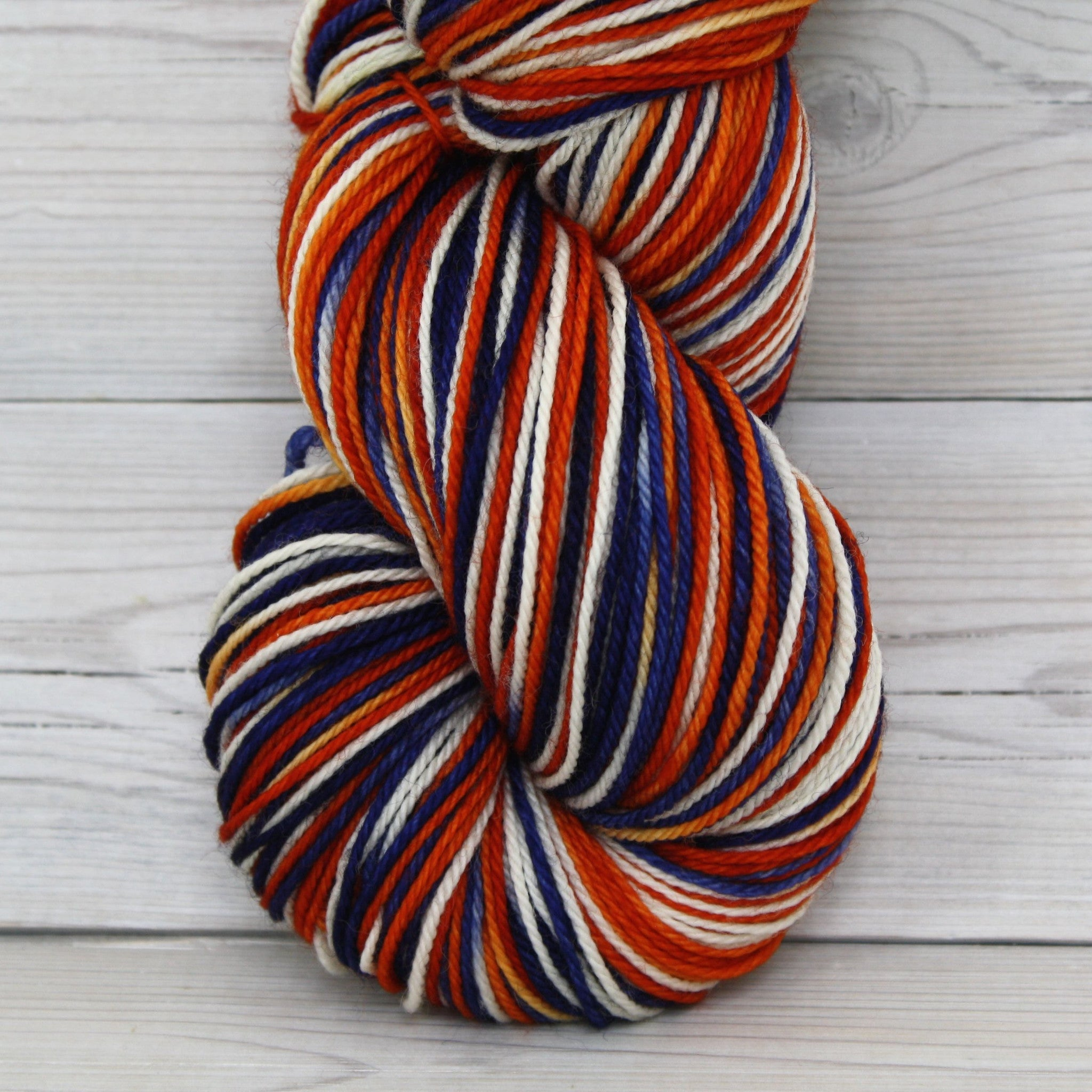 Colorway: Broncos | Dyed to Order Yarn