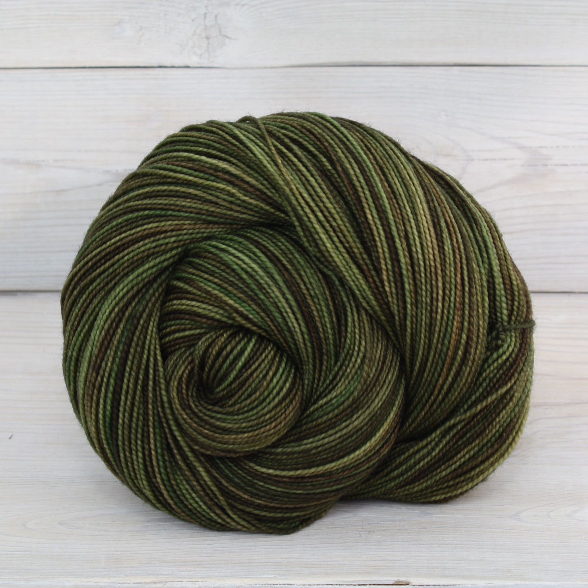 Luna Grey Fiber Arts Celeste Yarn | Colorway: Camo