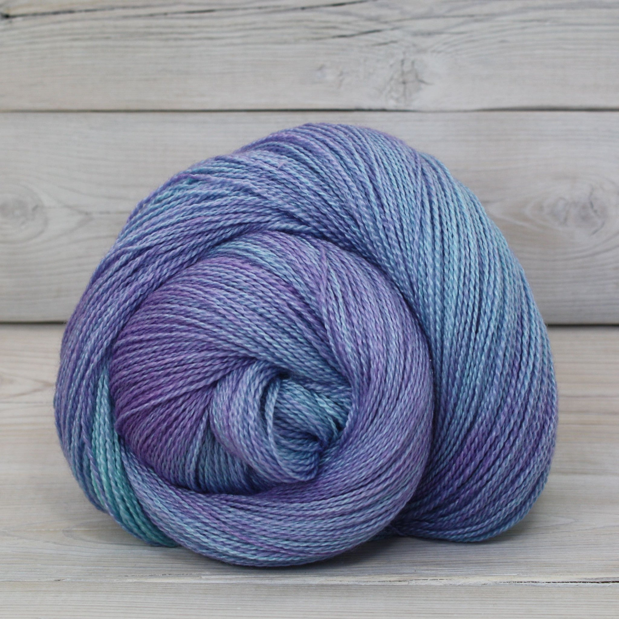 Luna Grey Fiber Arts Starbright Yarn | Colorway: Celestial