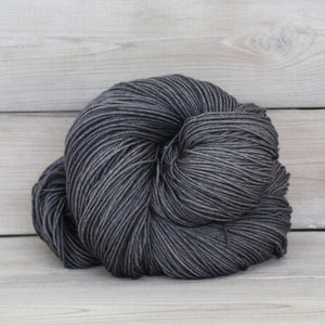 Luna Grey Fiber Arts Altair Yarn | Colorway: Charcoal