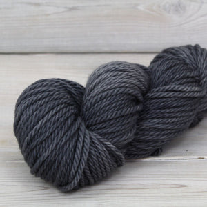 Luna Grey Fiber Arts Apollo Yarn | Colorway: Charcoal