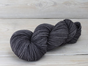 Luna Grey Fiber Arts Aspen Sport Yarn | Colorway: Charcoal