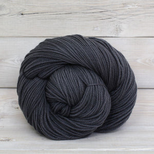 Luna Grey Fiber Arts Zeta Yarn | Colorway: Charcoal