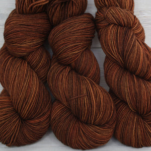 Luna Grey Fiber Arts Aspen Sport Yarn | Colorway: Cinnamon