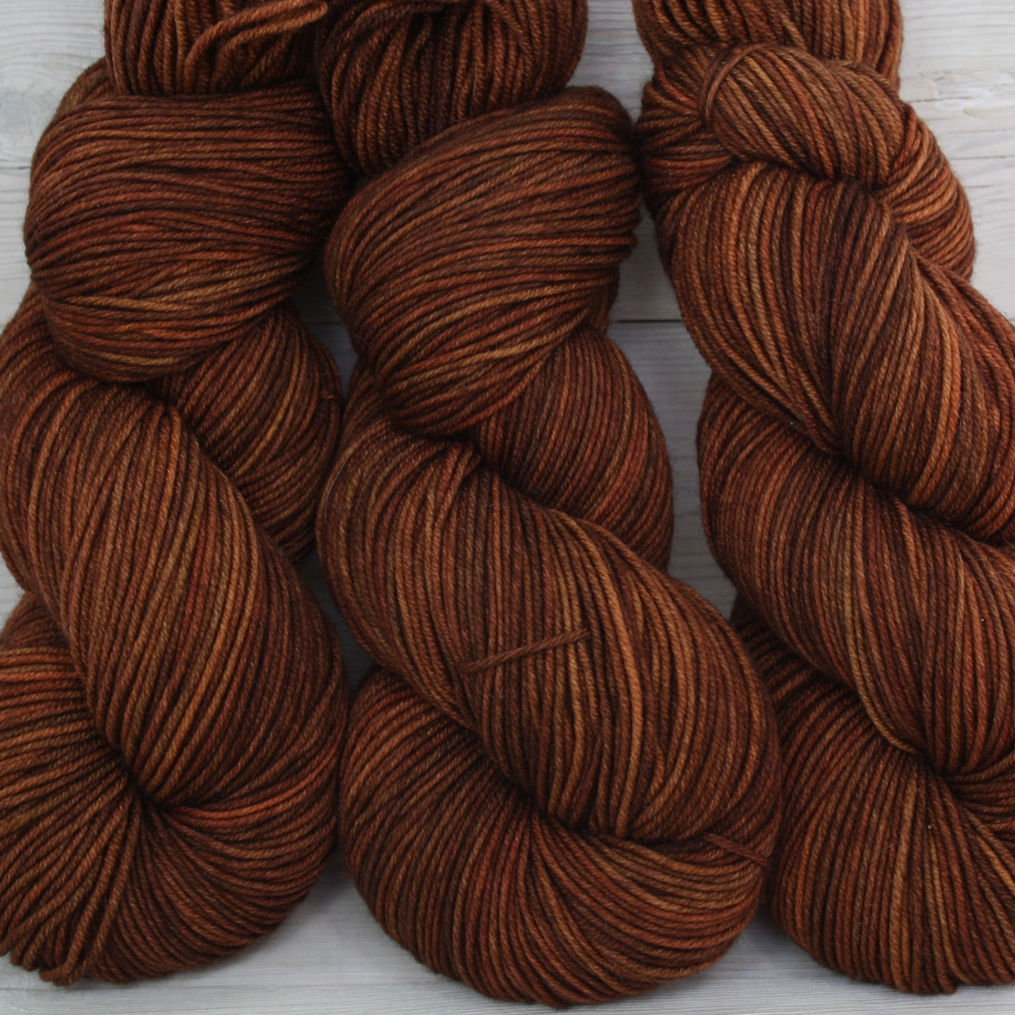 Colorway: Cinnamon | Dyed to Order Yarn