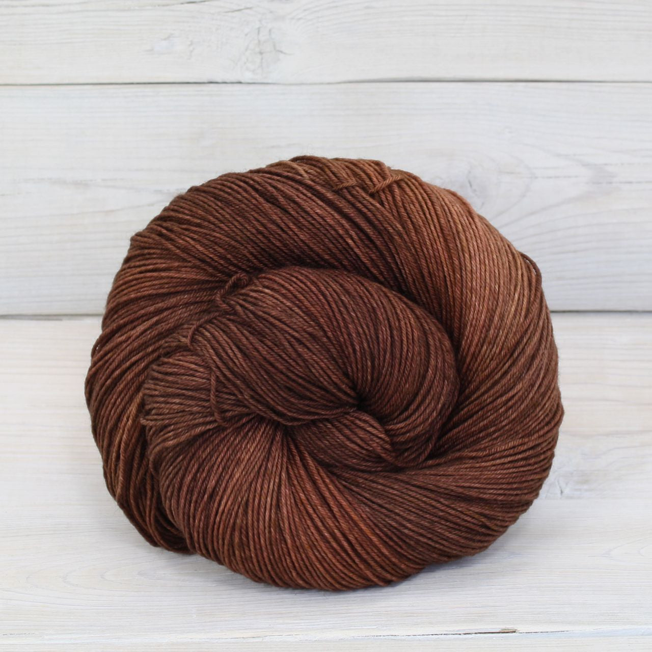 Luna Grey Fiber Arts Athena Sock Yarn | Colorway: Cinnamon