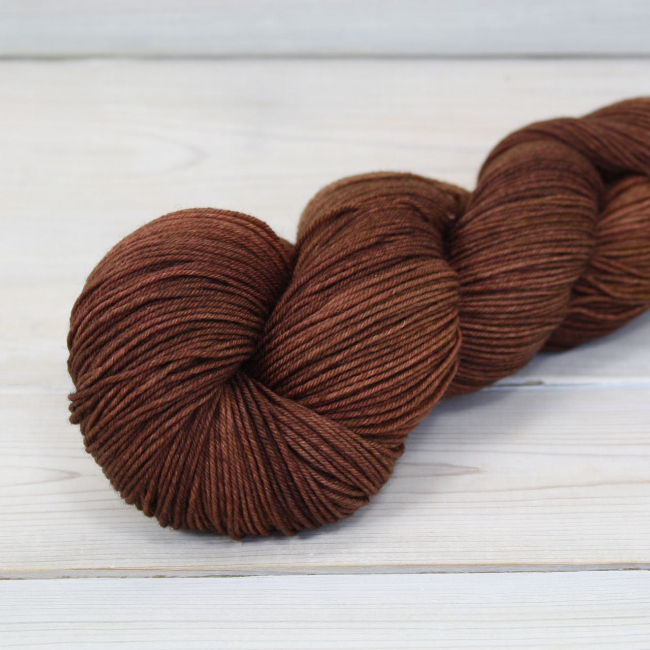 Athena Sock Yarn | Colorway: Cinnamon