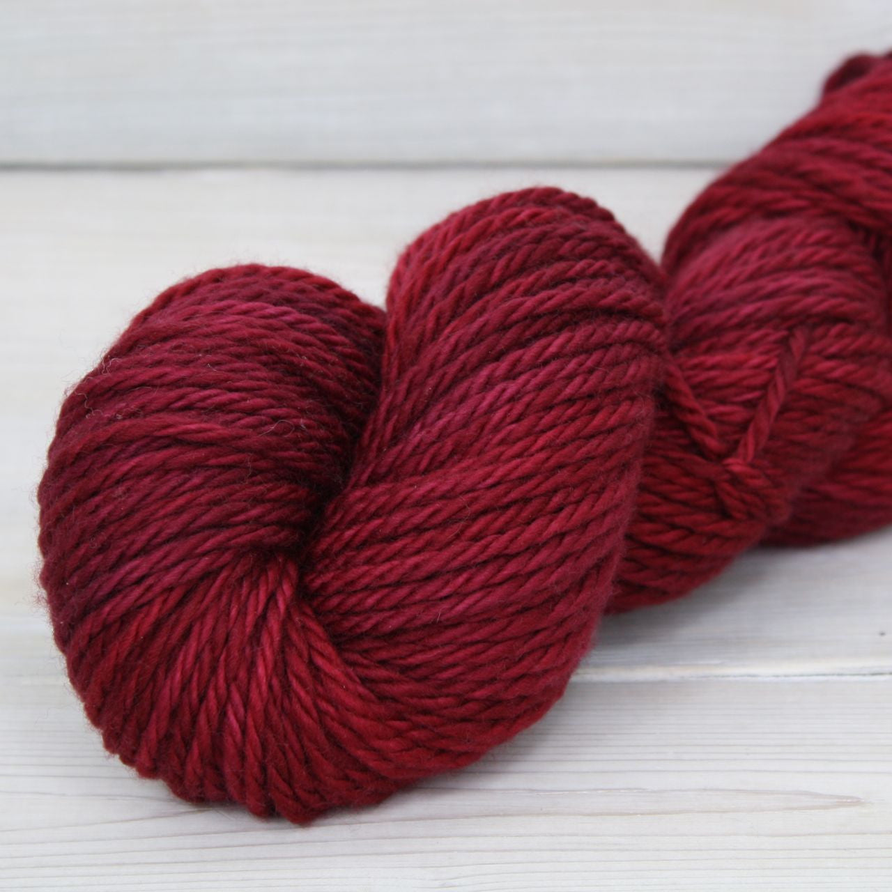 Apollo Yarn | Colorway: Cranberry
