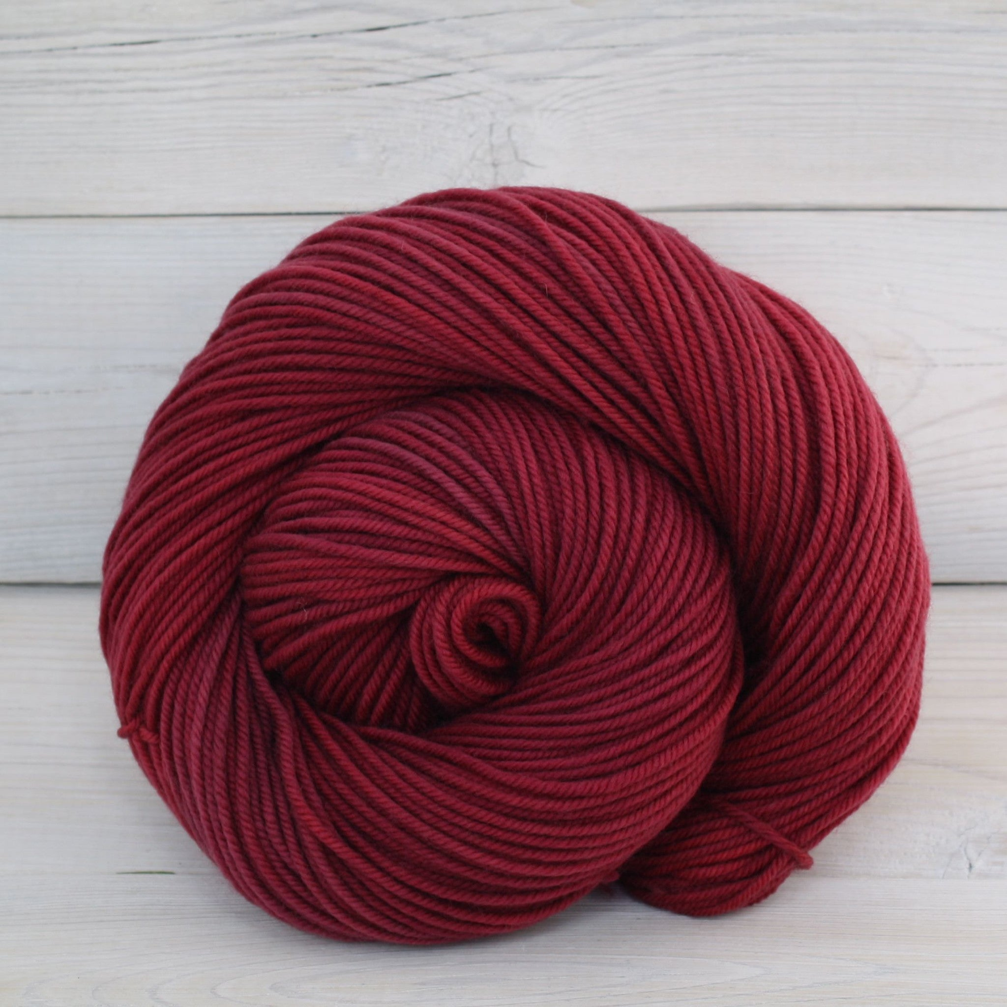 Luna Grey Fiber Arts Calypso Yarn | Colorway: Cranberry