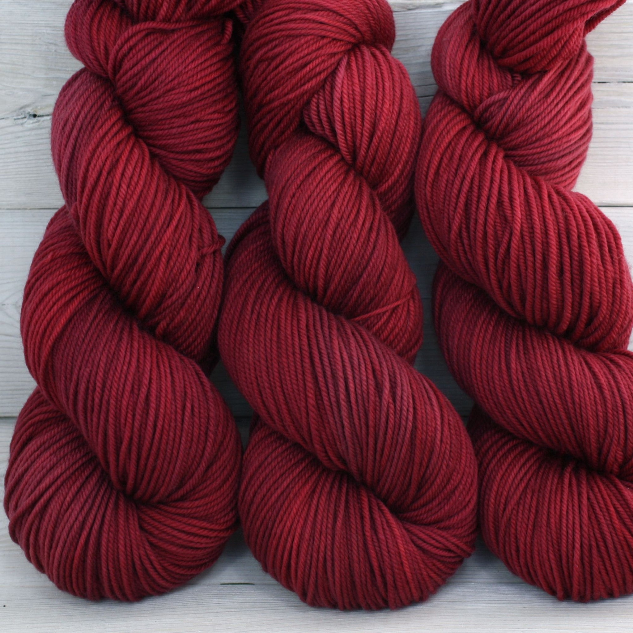 Calypso Yarn | Colorway: Cranberry