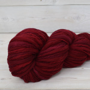 Luna Grey Fiber Arts Titan Yarn | Colorway: Cranberry