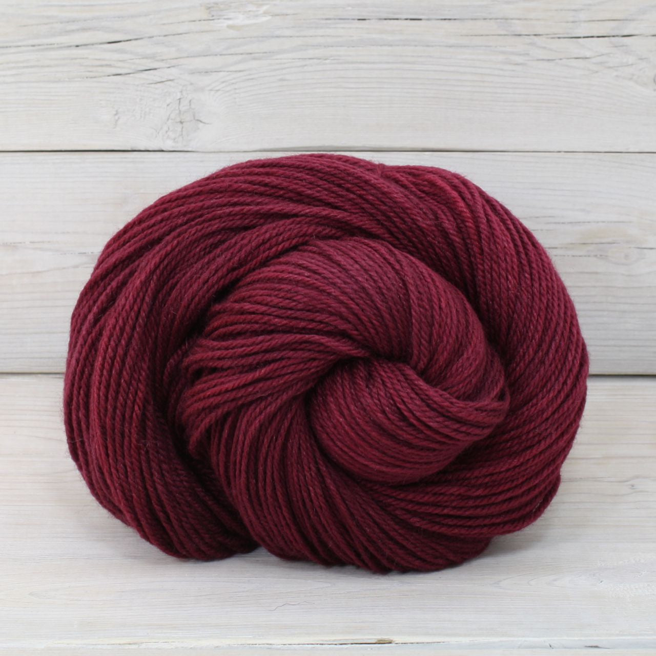 Luna Grey Fiber Arts Zeta Yarn | Colorway: Cranberry