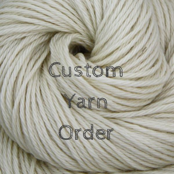 Custom Order for Kasia | Lumina Yarn