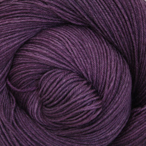 Luna Grey Fiber Arts Altair Yarn | Colorway: Eggplant
