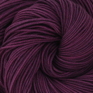 Luna Grey Fiber Arts Aspen Sport Yarn | Colorway: Eggplant