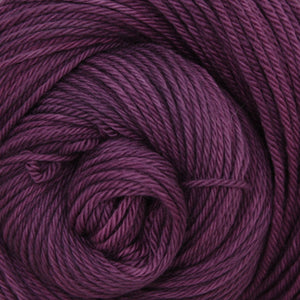 Luna Grey Fiber Arts Supernova Yarn | Colorway: Eggplant