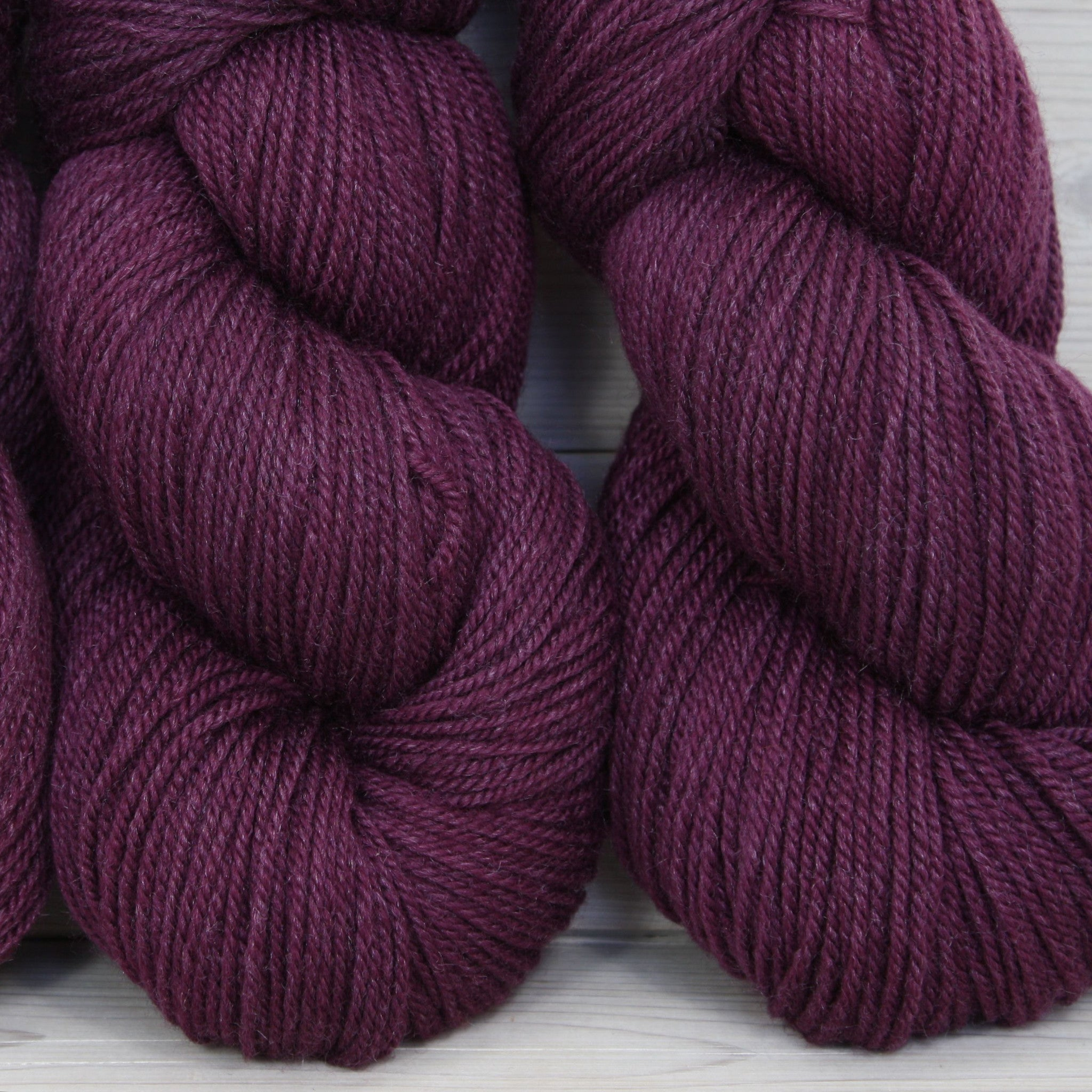 Zeta Yarn | Colorway: Eggplant | Overstock