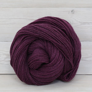 Luna Grey Fiber Arts | Colorway: Eggplant