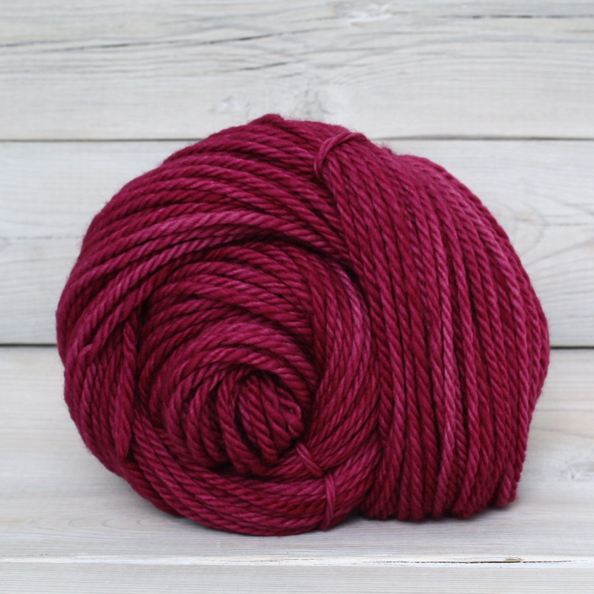 Luna Grey Fiber Arts Apollo Yarn | Colorway: Elderberry