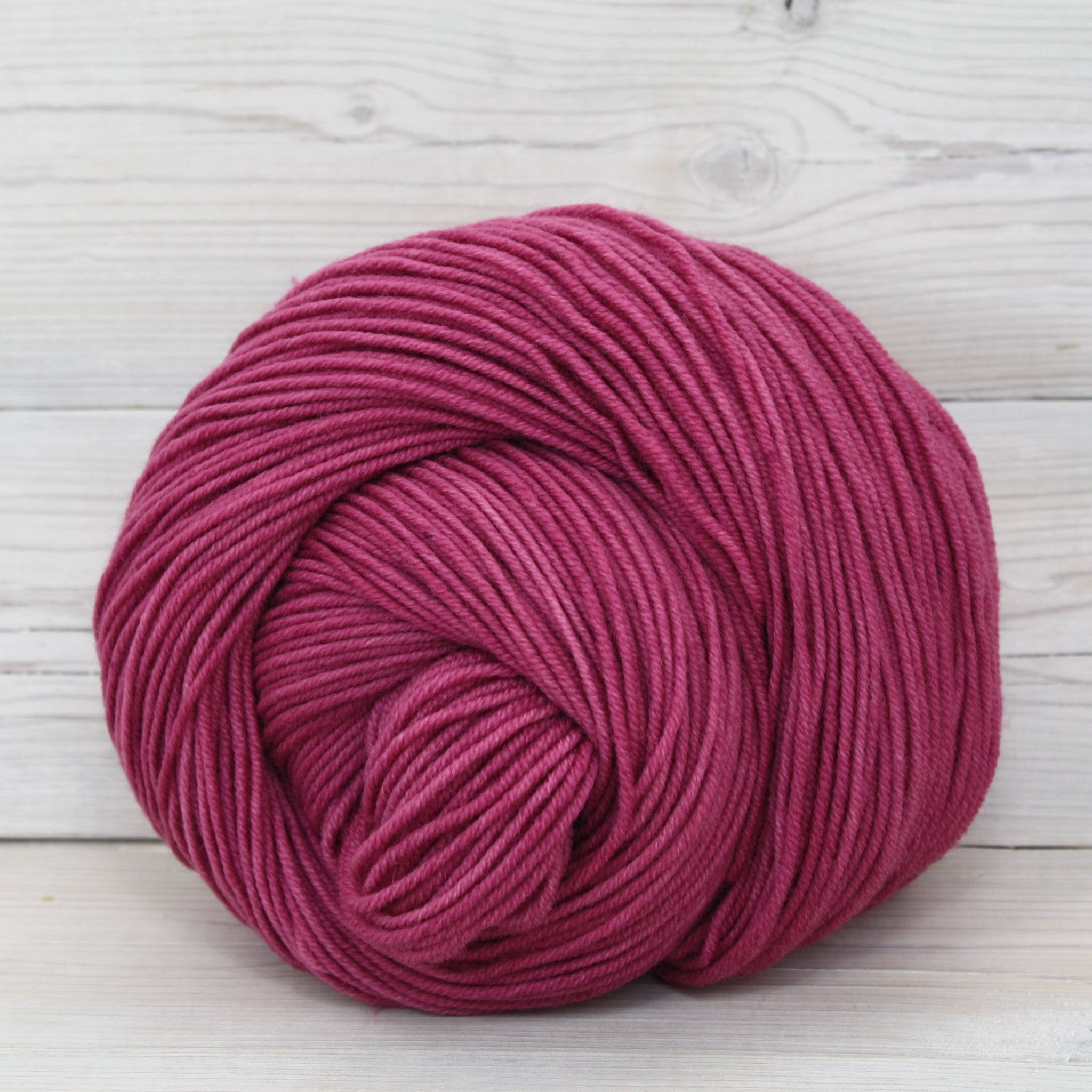Luna Grey Fiber Arts Aspen Sport Yarn | Colorway: Elderberry