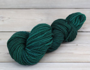 Luna Grey Fiber Arts Apollo Yarn | Colorway: Emerald