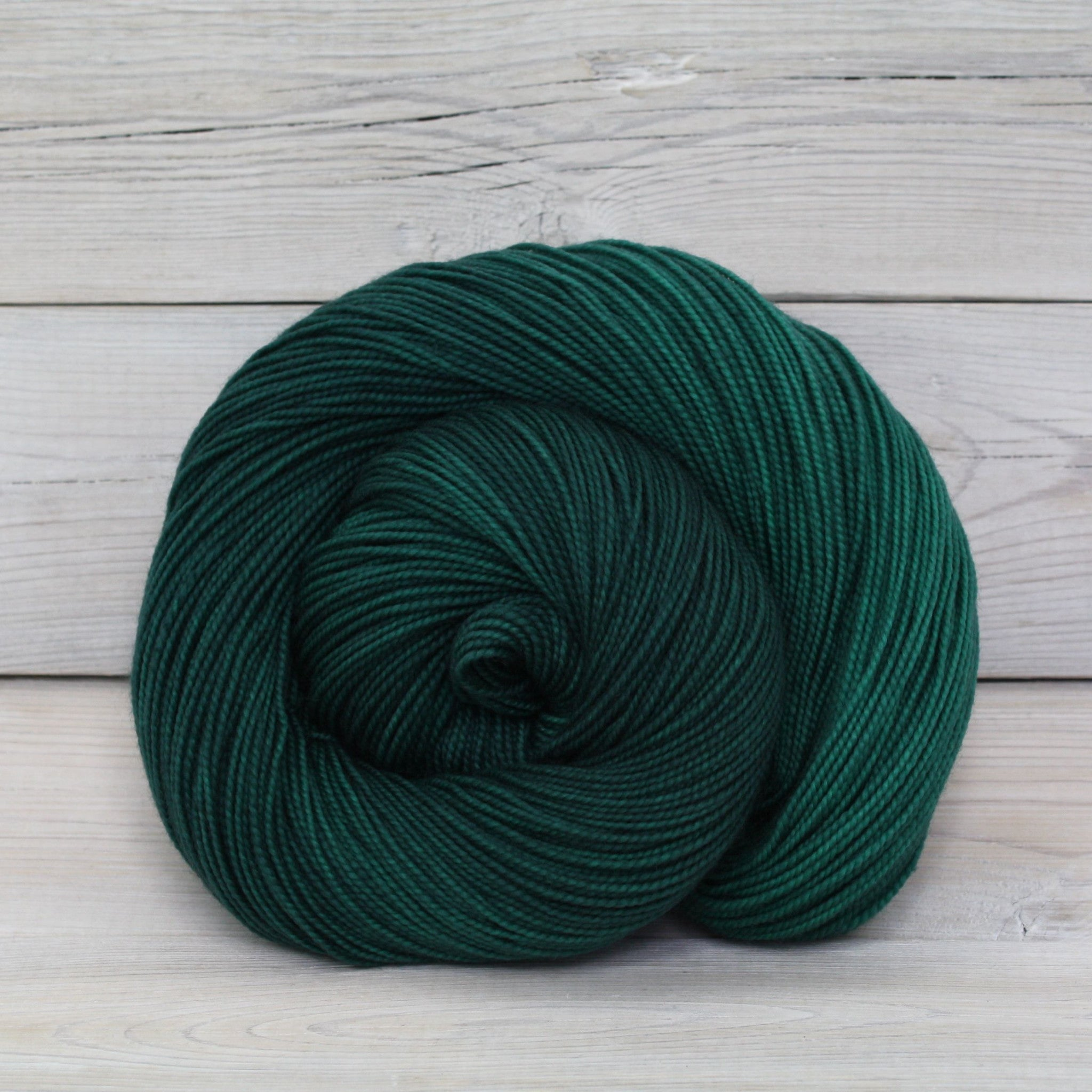 Luna Grey Fiber Arts Celeste Yarn | Colorway: Emerald
