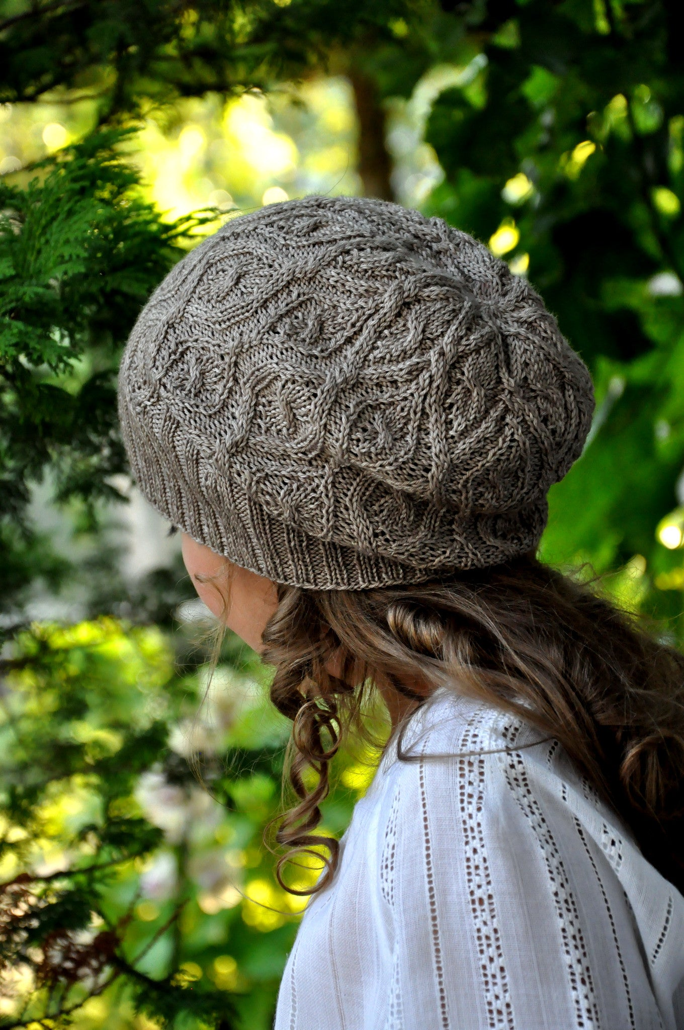 Fanciful Flower Hat Kit  |  Pattern + Yarn