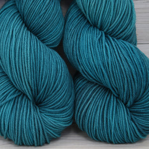 Luna Grey Fiber Arts Aspen Sport Yarn | Colorway: Fjord