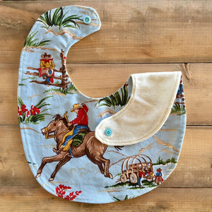 Baby / Toddler Bib | Fabric: Western