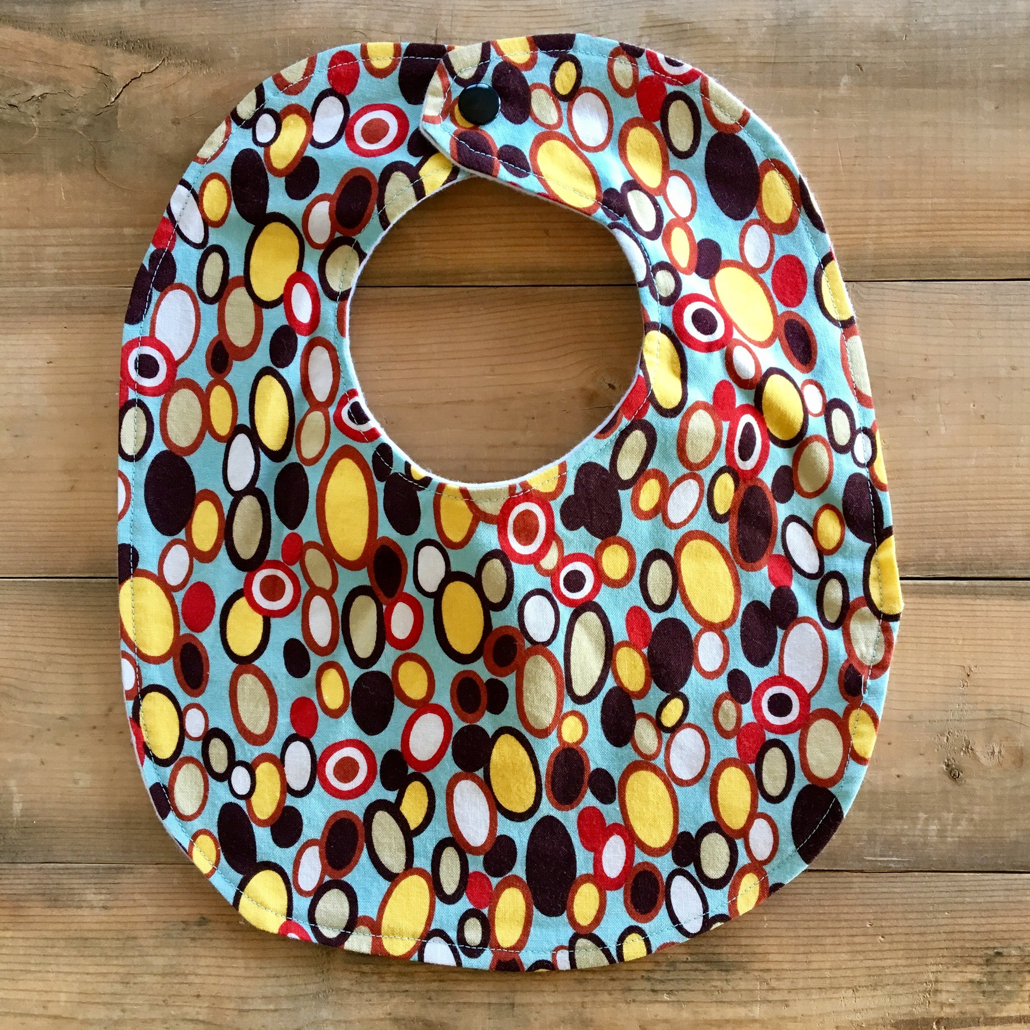 Baby / Toddler Bib | Fabric: Pebbles