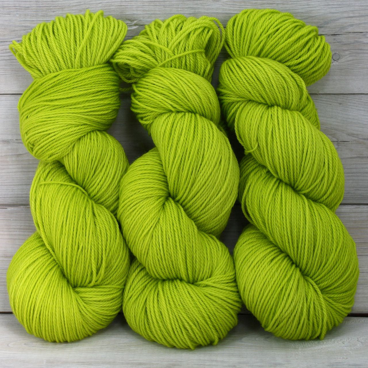 Colorway: Green Apple | Dyed to Order Yarn