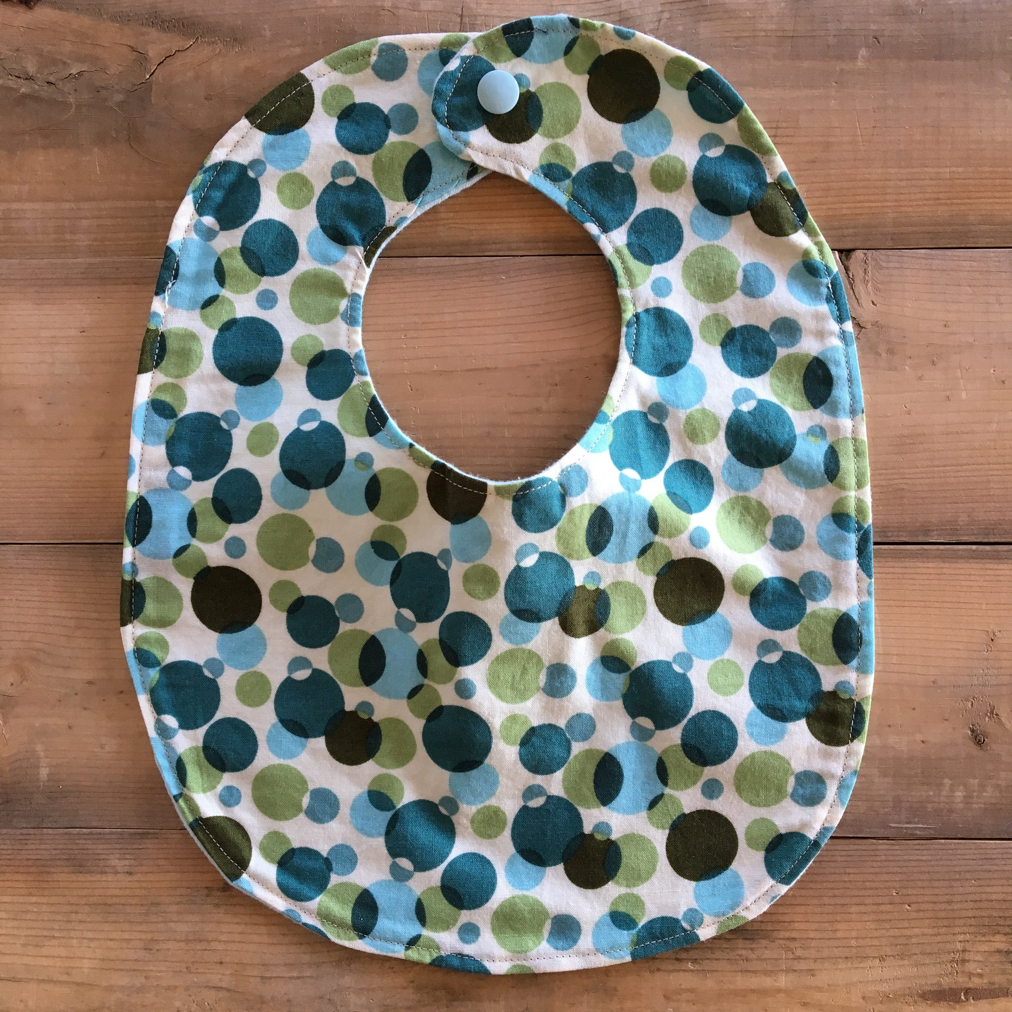 Baby / Toddler Bib | Fabric: Bubbles