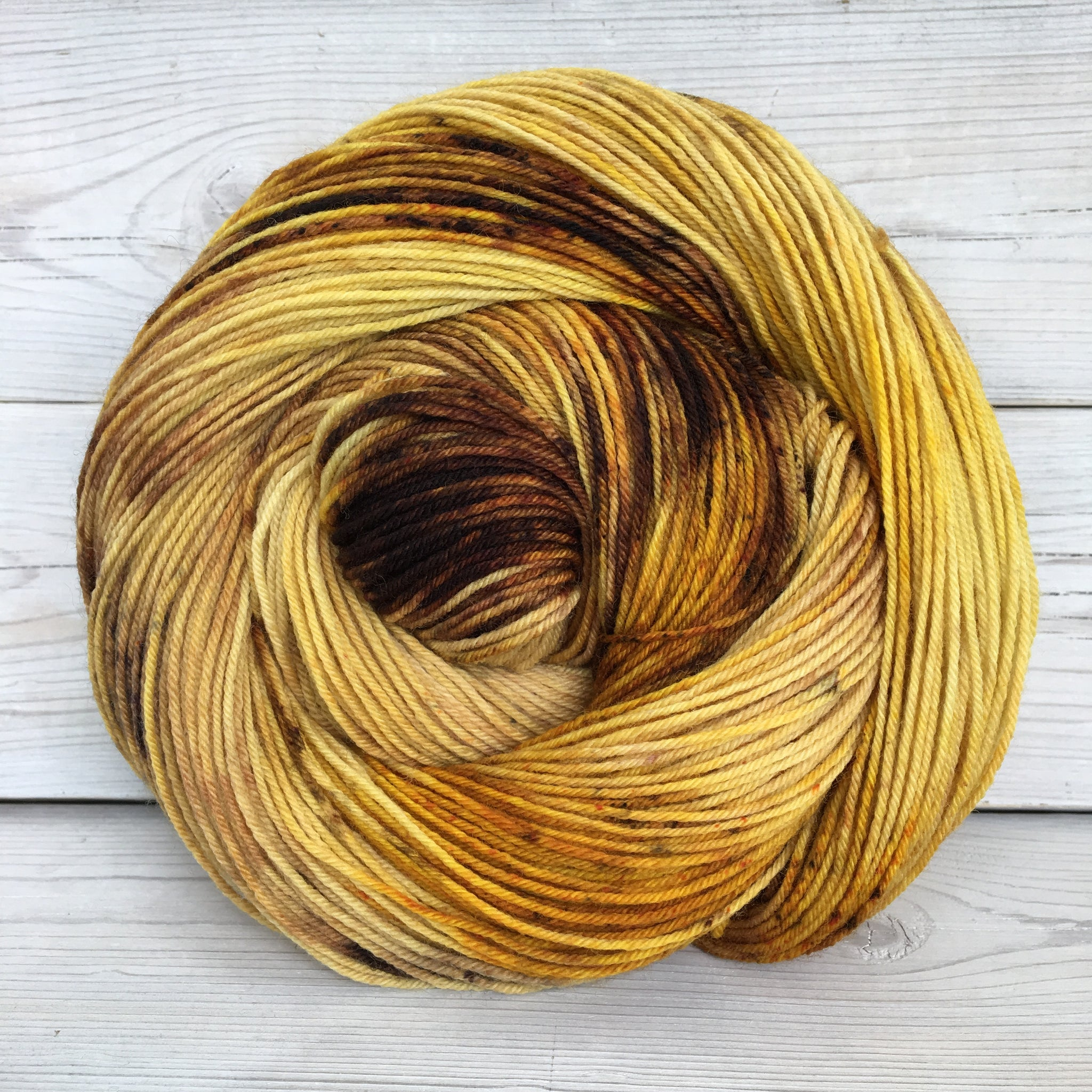 Colorway: Tiger Eye | Dyed to Order Yarn