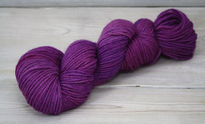 Luna Grey Fiber Arts Vega Yarn | Colorway: Jelly Bean
