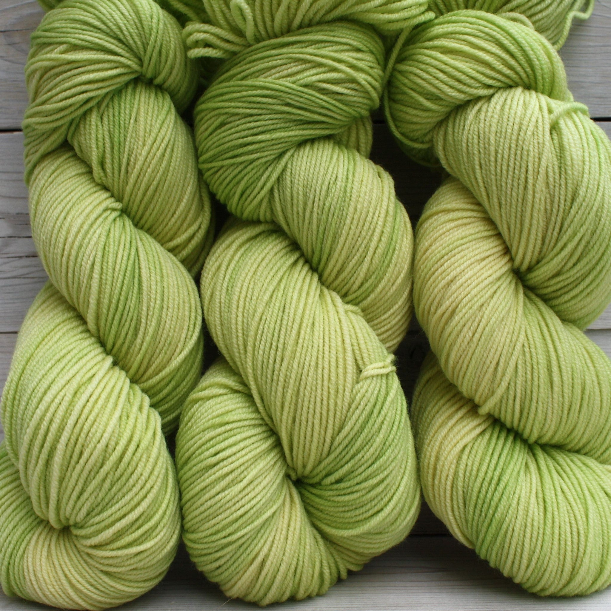 Aspen Sport Yarn | Colorway: Lemon Lime | Overstock