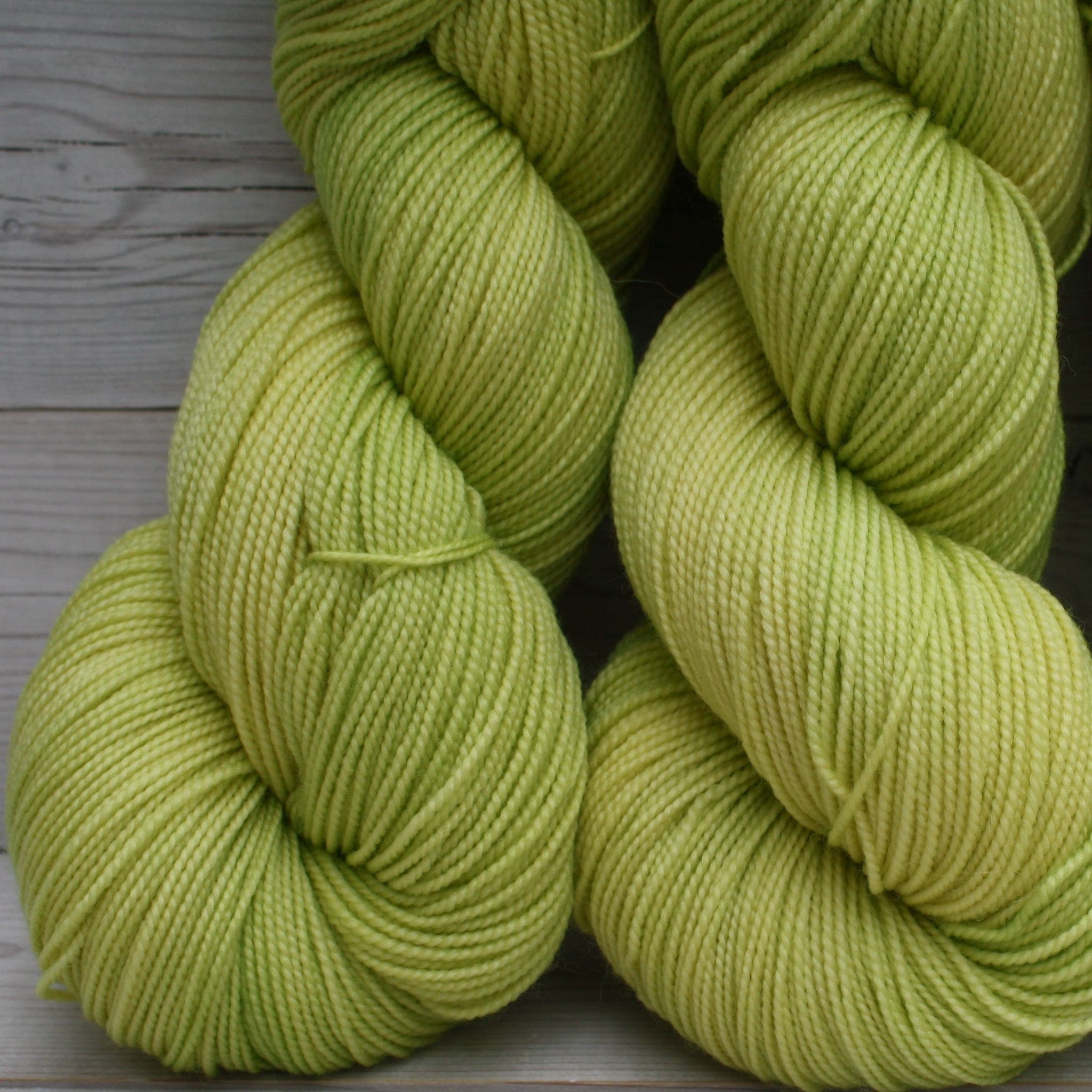 Celeste Yarn | Colorway: Lemon Lime