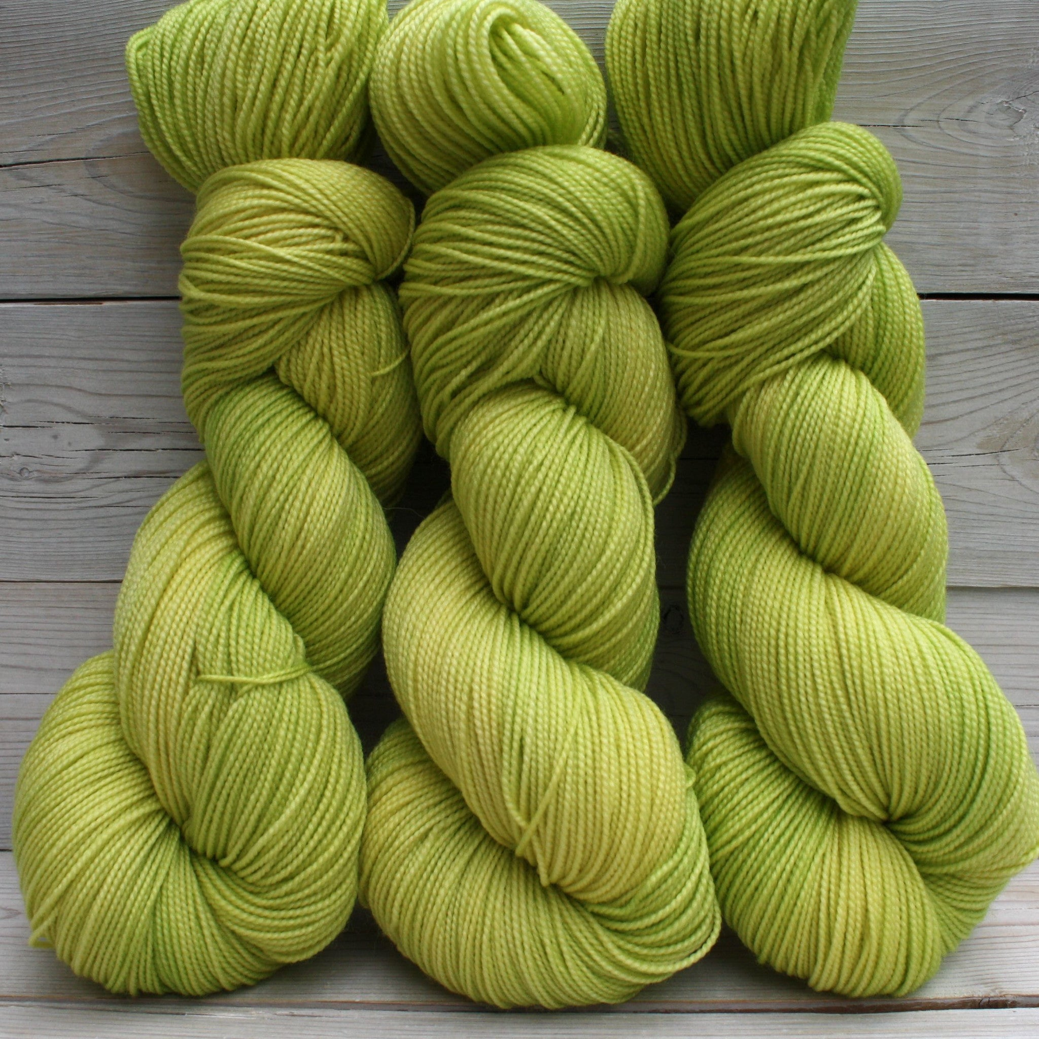 Colorway: Lemon Lime | Dyed to Order Yarn