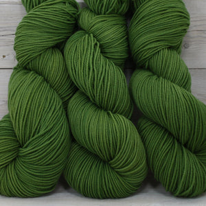 Luna Grey Fiber Arts Aspen Sport Yarn | Colorway: Moss
