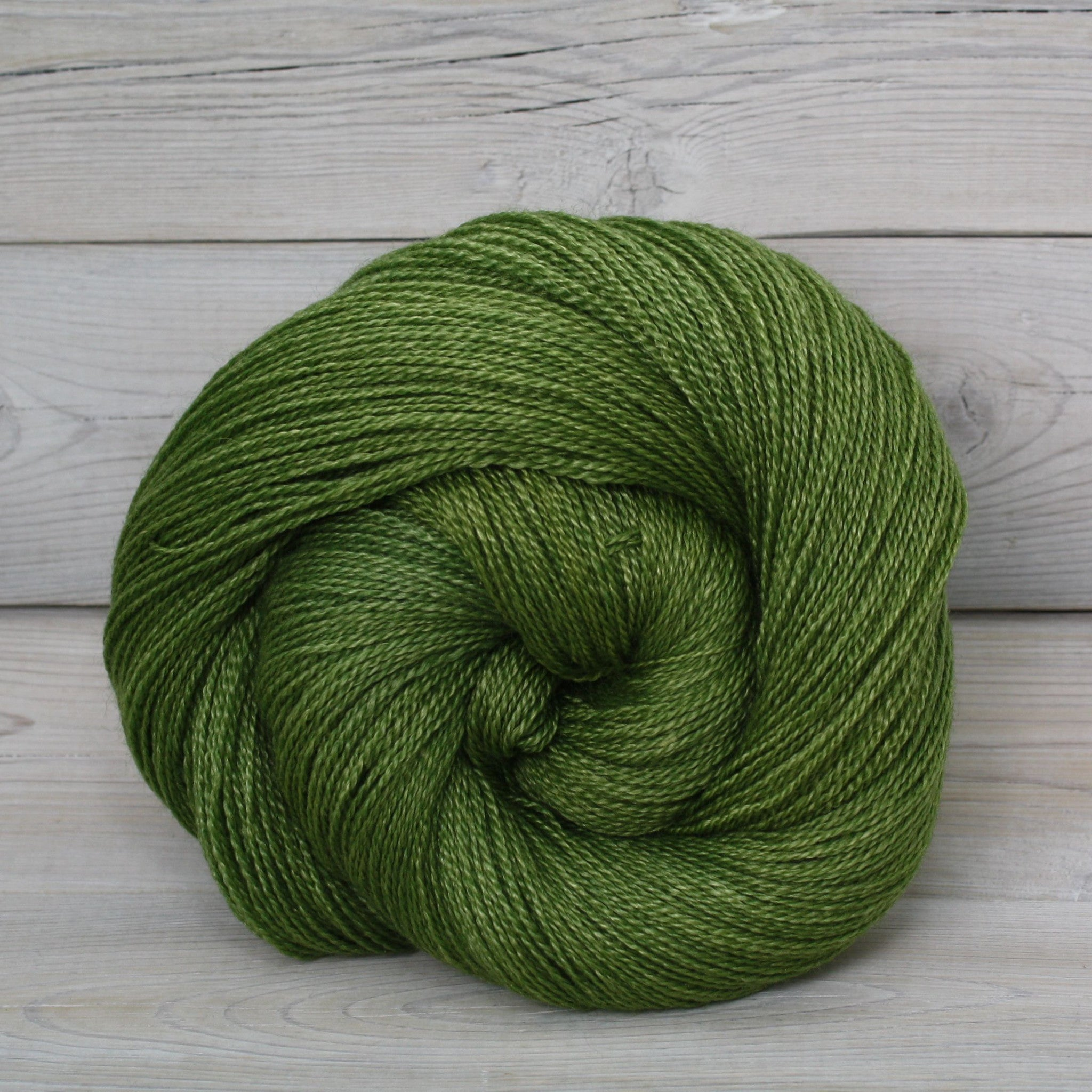 Luna Grey Fiber Arts Starbright Yarn | Colorway: Moss