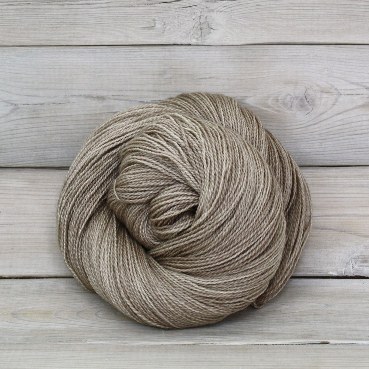 Luna Grey Fiber Arts Starbright Yarn | Colorway: Oatmeal