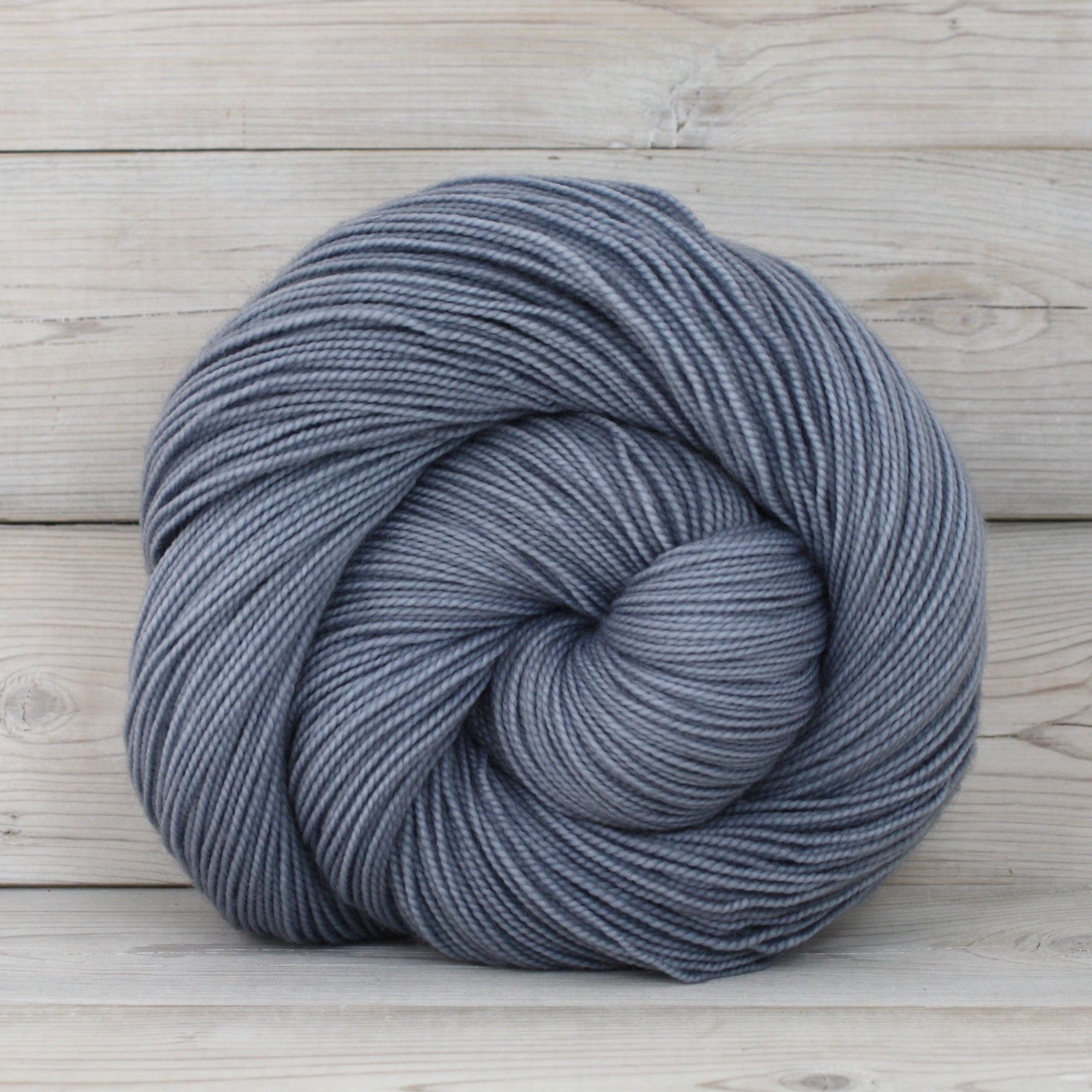 Luna Grey Fiber Arts Celeste Yarn | Colorway: Rain